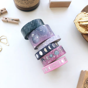 Moon Magic - Constellation pt. 2 Washi Tape Complete Set - PapergeekCo