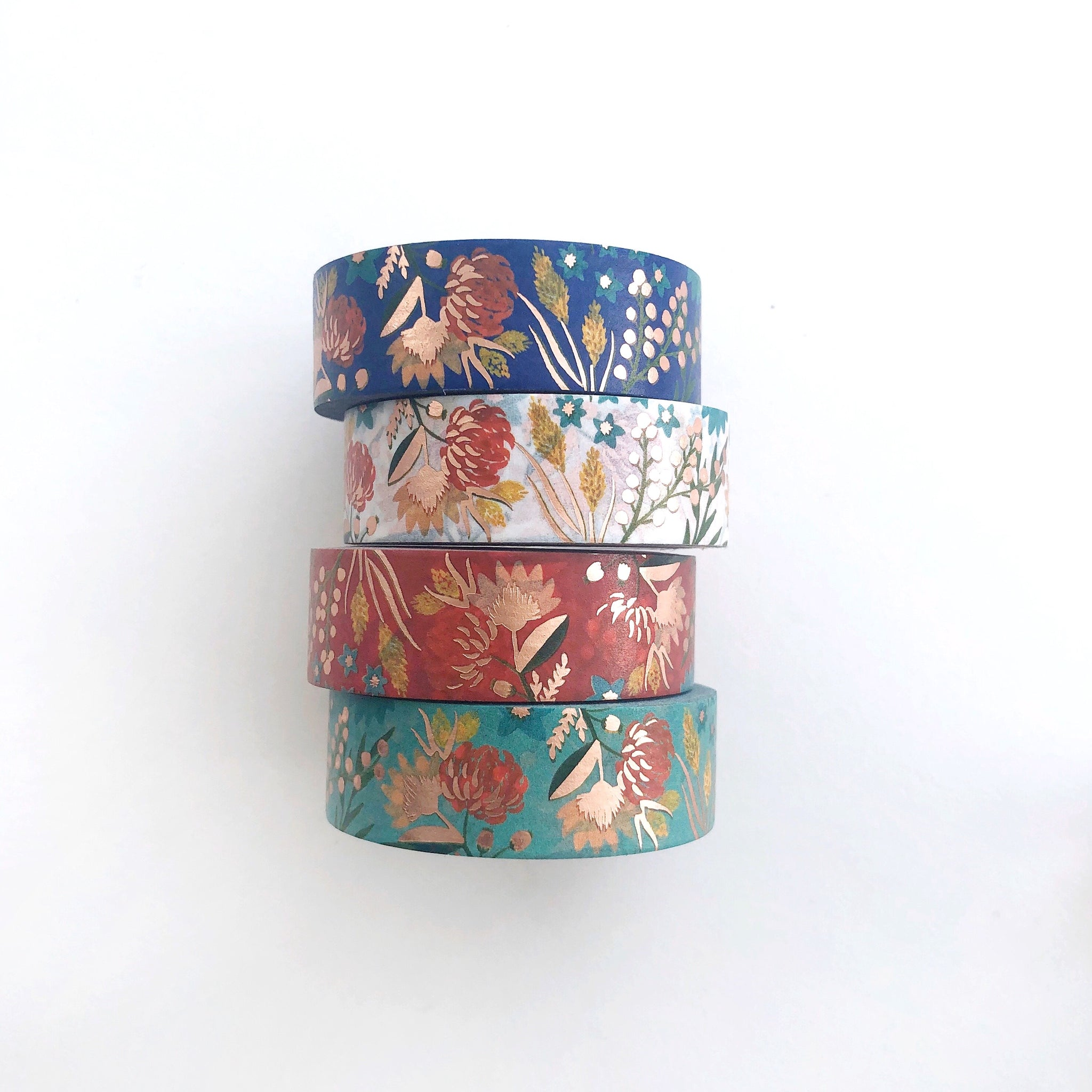 Chinoiserie Floral Washi Tape - PapergeekCo