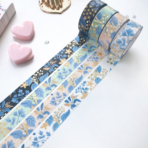 English Garden Floral Washi Tape - PapergeekCo