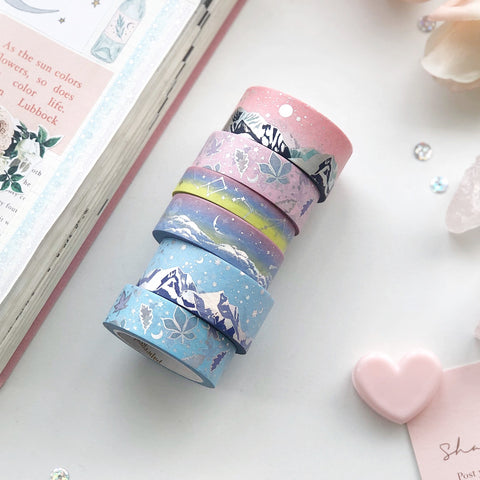SPRING FROST Washi Tape (FEB Release) - PapergeekCo