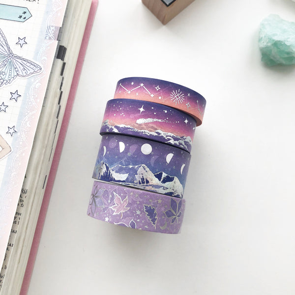 NIGHTFALL Washi Tape (FEB Release) - PapergeekCo