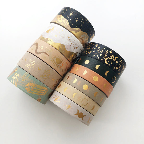 MAGICK Washi Tape (APRIL Release) - PapergeekCo