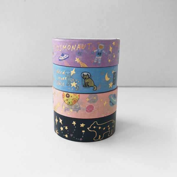 When In Space Washi Tape - PapergeekCo