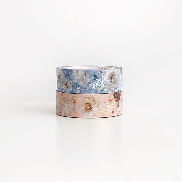Vintage Rose Garden Floral Washi Tape (JUNE Release) - PapergeekCo