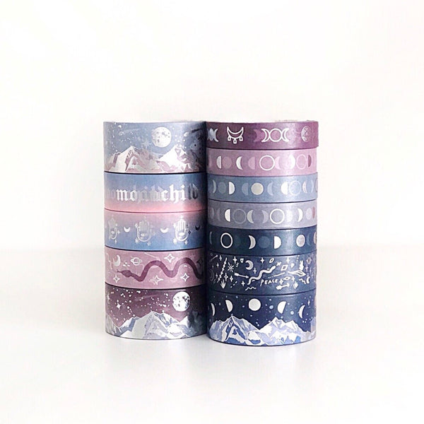 MAGICK - Wicked Plum Washi Tape (AUG Release)