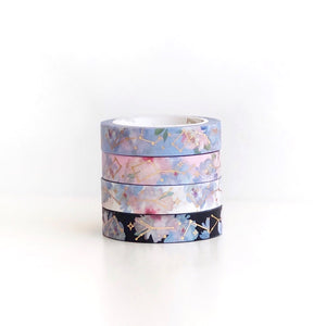 Constellation x Floral Washi Tape AUG Release
