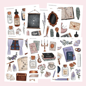 Cosmic Witchcraft Stickers Bundle save 15% - PapergeekCo
