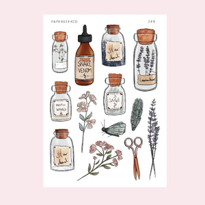 Magic Potion - Herbs Blend Stickers 249 - PapergeekCo