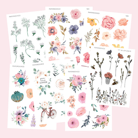 Botanical Stickers Bundle 2.0