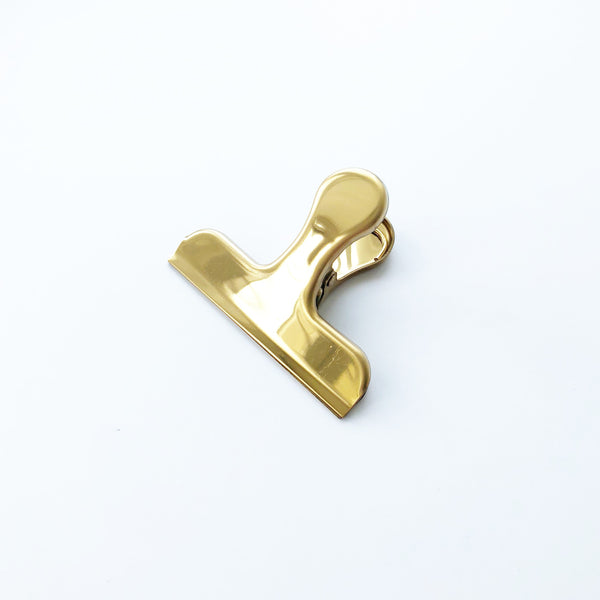 Brass Gold Clip with Handle