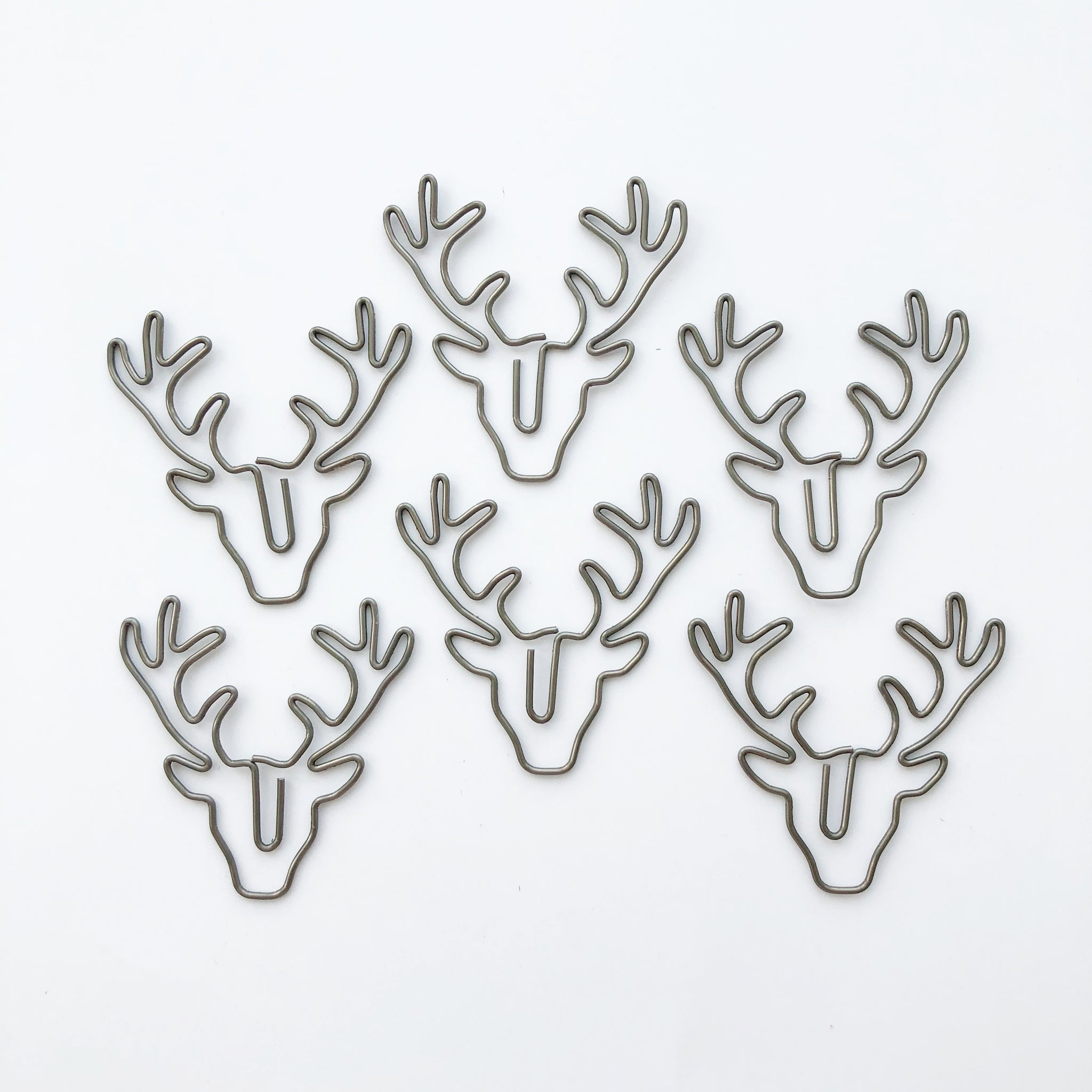Antler Paper Clips 8 pcs - PapergeekCo