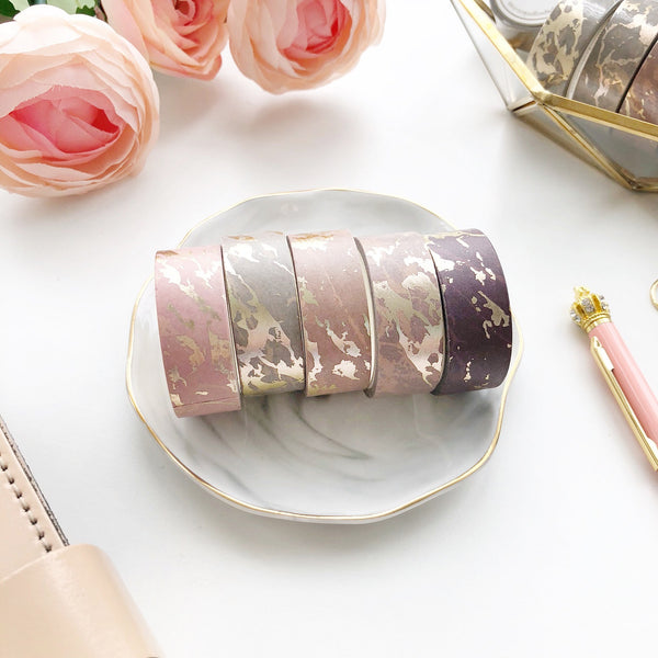 Nude Marble Washi Tape Set EXCLUSIVE