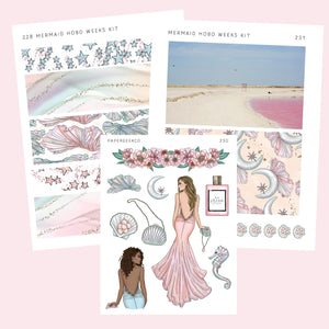 Hobo Weeks Kit - Mermaid - PapergeekCo