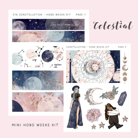 Hobo Weeks Kit - Constellation - PapergeekCo