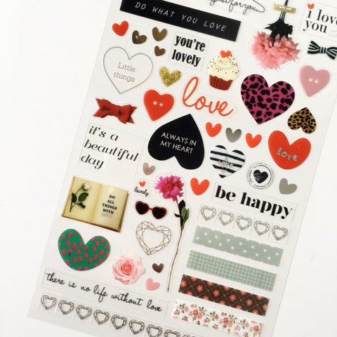Love Actually Stickers - PapergeekCo