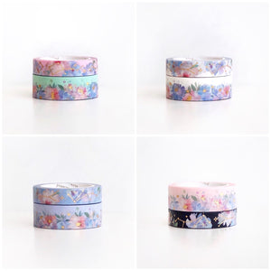 (PRE-SALE RESTOCK) Constellation x Floral Washi Tape AUG Release