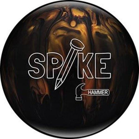 Hammer Spike Black & Gold