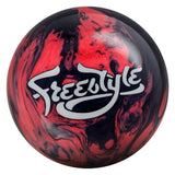 Motiv Freestyle Pearl Bowling Ball (Black/Pink)