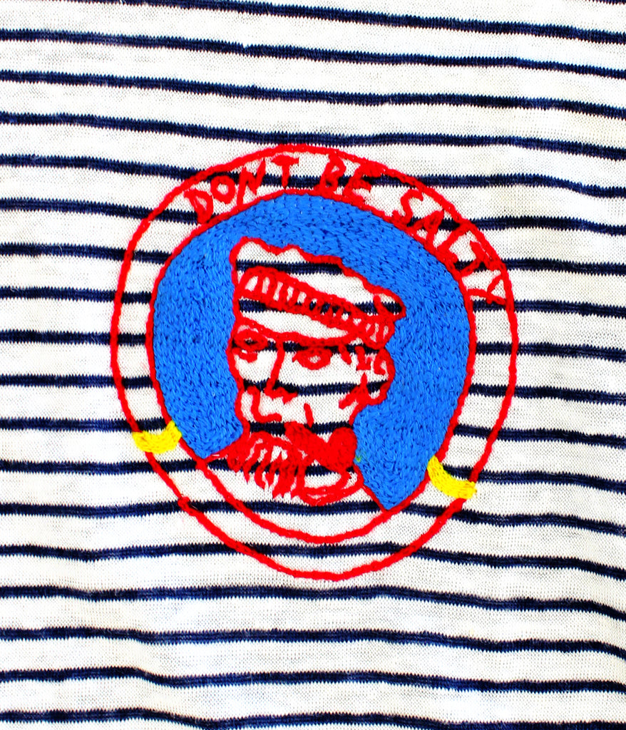 Don't Be Salty Mariner Tee, Striped