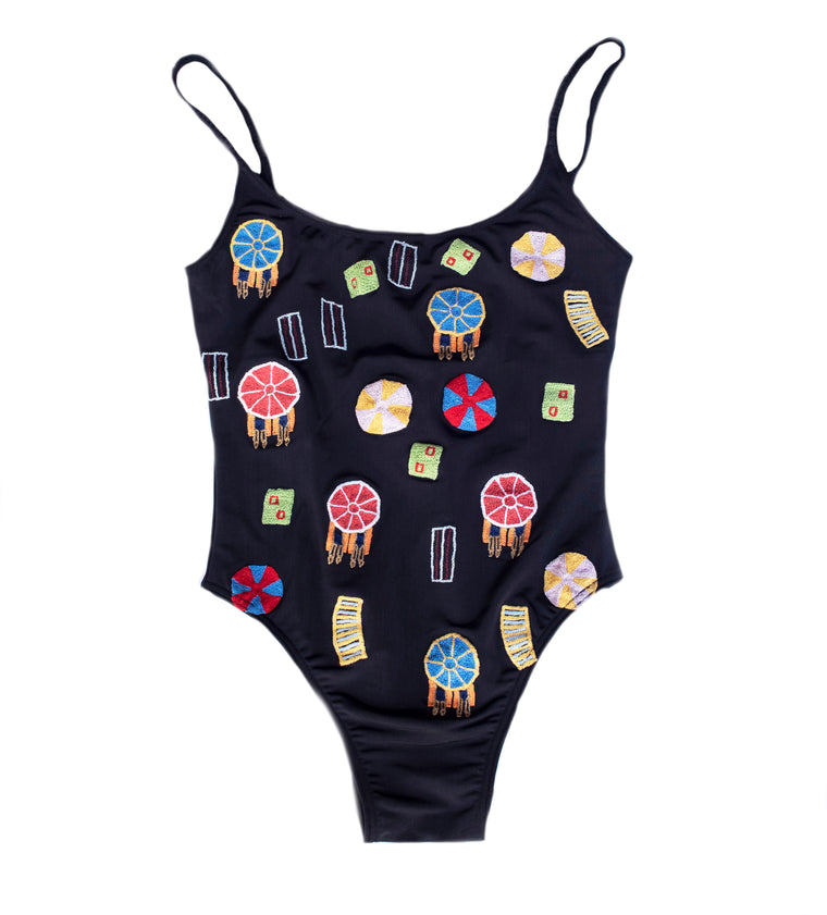 SUNBATHER ONE PIECE SWIM SUIT