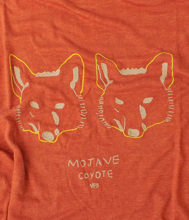 Mojave Coyote, Clay