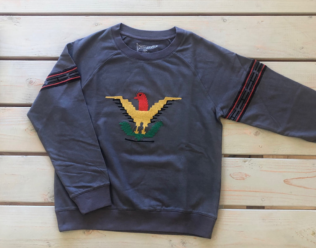 EAGLE SWEATSHIRT | CHARCOAL  *PRE-SELL
