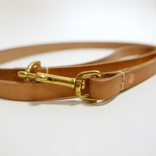 Natural Dog Leash - Made Solid