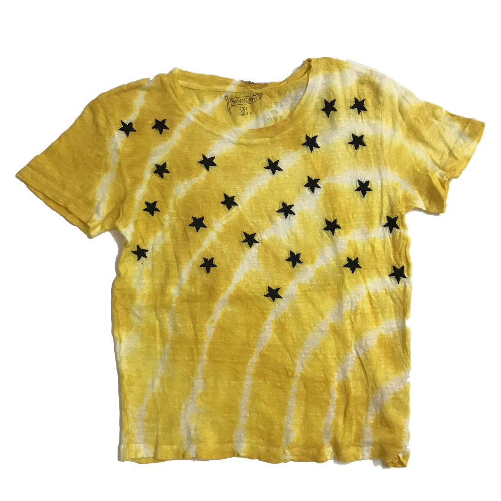 (tumeric dyed) STARRY NIGHT