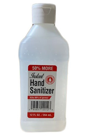 Hand Sanitizer 12 oz Flip Top