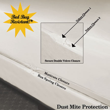 Wholesale Waterproof Bed Bug Box Spring Protector