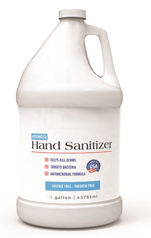 Liquid Hand Sanitizer - 1 Gallon Bottle