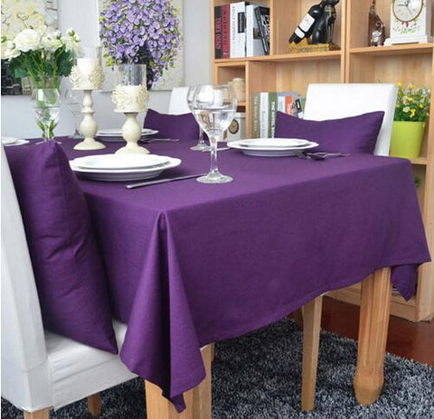 "Tablecloth/Overlay - Square - Milliken Visa Polyester 54"" x 54"""