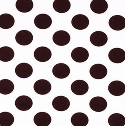 Brown Dot Tablecloth