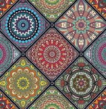 Decorative Tile Tablecloth