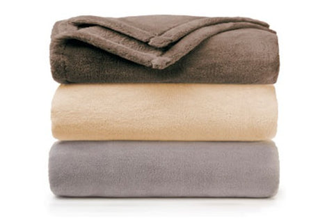 Golden Gem Brushed Fleece Blanket