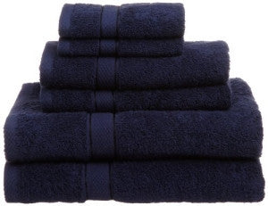 Wholesale Cotton Towels - Premium Bath Towels 100% Cotton Navy