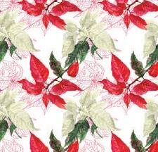 Pointsettia Tablecloth