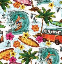 Surfs Up Tablecloth