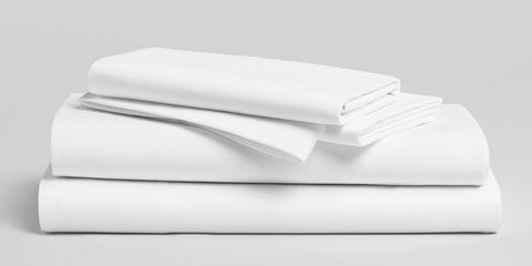 T200 Import White Fitted Sheets