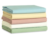 T180 Light Blue Fitted Sheets