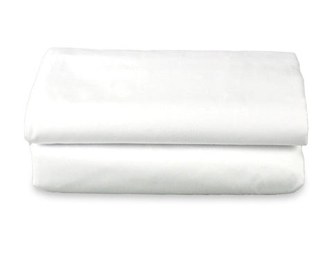 Wholesale Sheets - T180 White Pillow Cases