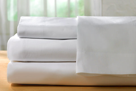 Wholesale Sheets - T200 White Fitted Sheets