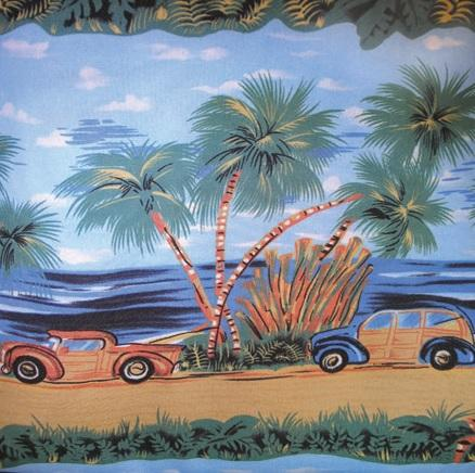 Woody Island Tablecloth