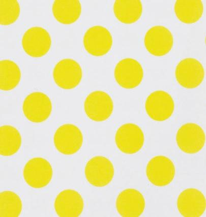 Yellow Dot Tablecloth