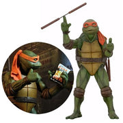Teenage Mutant Ninja Turtles Movie Michelangelo 1:4 Scale Action Figure - Ferrara Market Inc.