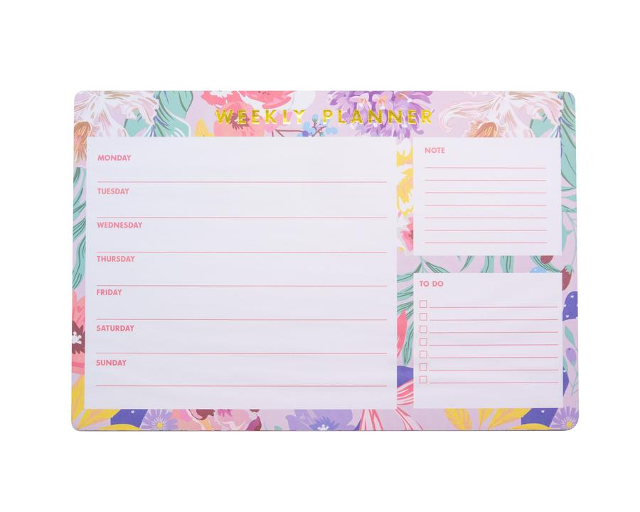 Tropical Florals Weekly Planner