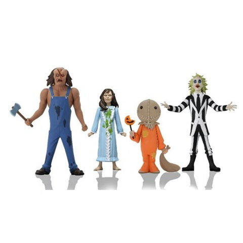 Toony Terrors Series 4 6-Inch Scale Action Figure Set