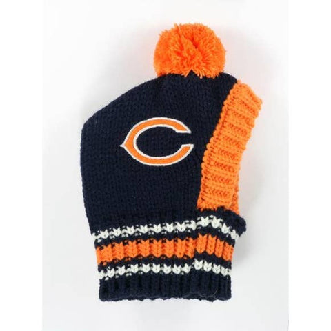 NFL Pet Knit Hat - Bears - Ferrara Market Inc.