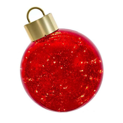 Red Ball Table Piece Ornament