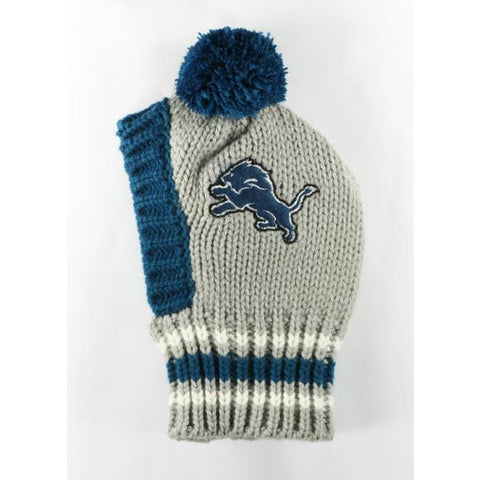 NFL Pet Knit Hat - Lions - Ferrara Market Inc.